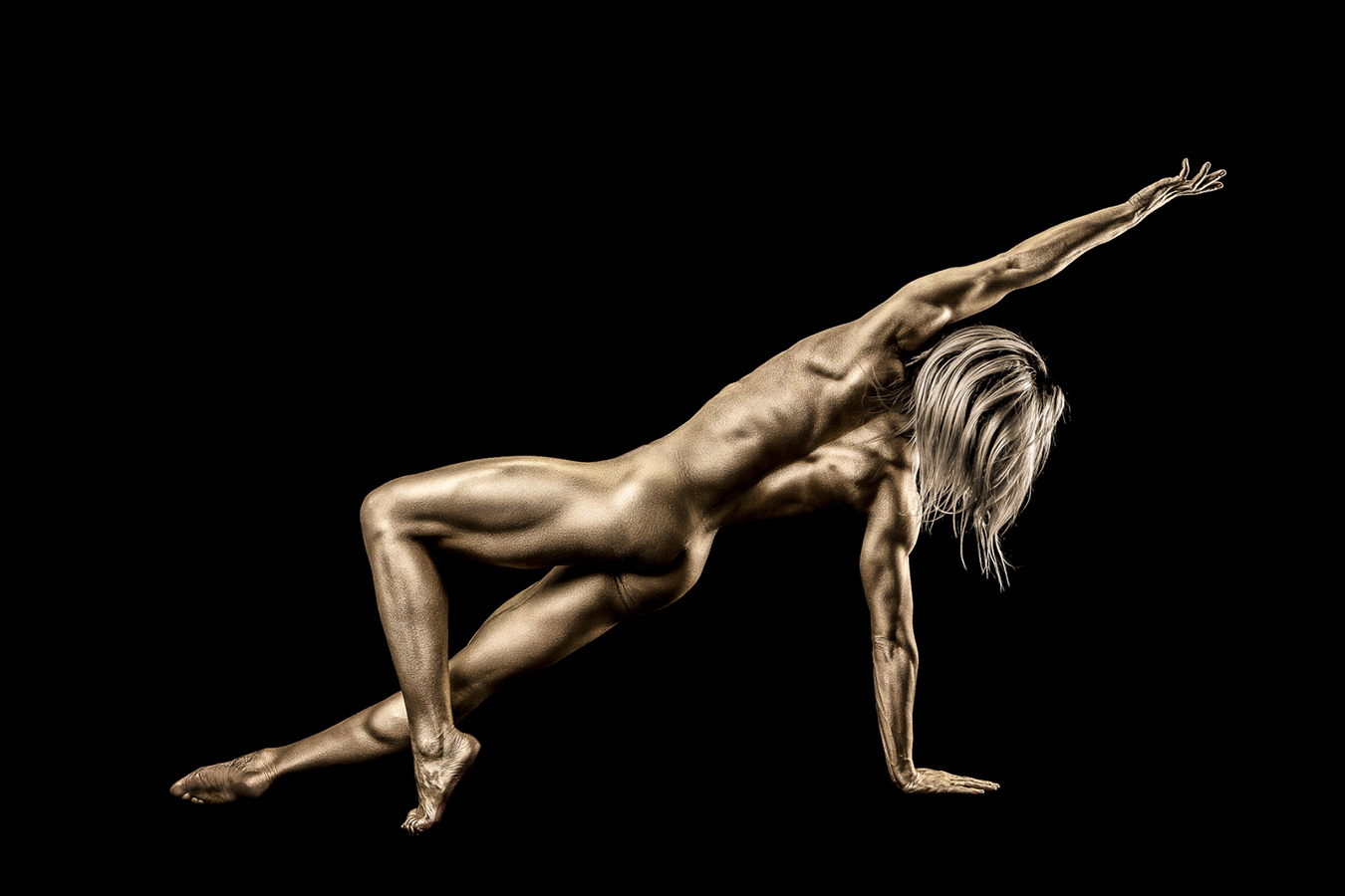 Gold Body Paint Canada