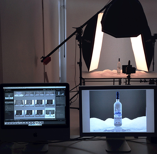 Grey Goose Vodka Project